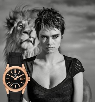 Cara Delevingne - Ph: for Tag Heuer 2018