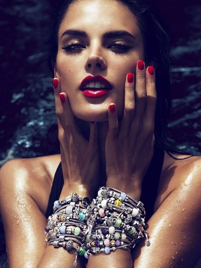 Alessandra Ambrosio - Ph: Mert & Marcus for Vivara Jewelry