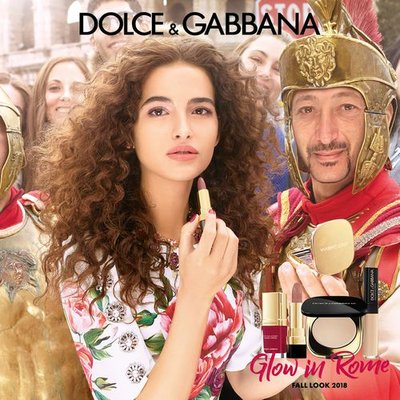 Chiara Scelsi - Ph: Morelli Brothers for Dolce Gabbana Beauty Fall 2018