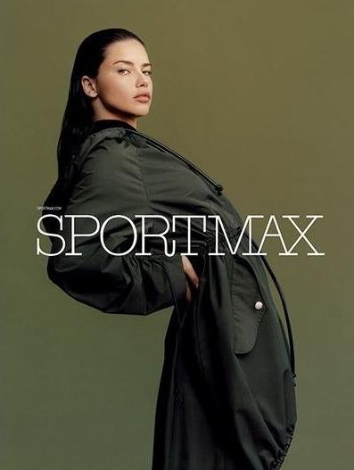 Adriana Lima - Ph: Harley Weir for Sportmax Pre Fall 2017