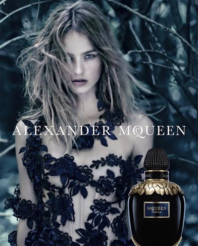 Maartje Verhoef - Ph: Paolo Roversi for Alexander McQueen Fragrance