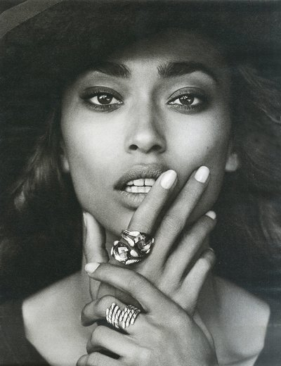 Anais Mali - Photo: Peter Lindbergh for David Yurman F/W 13