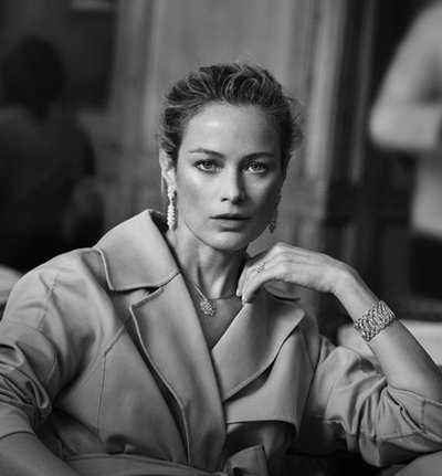 Carolyn Murphy - Photo: Peter Lindbergh for Buccellati S/S 2018