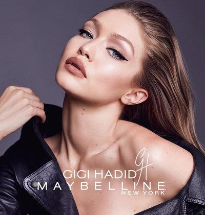 Gigi Hadid - Ph: for Maybelline 2017