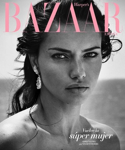 Adriana Lima - Ph. Vincent Peters for Harper's Bazaar Spain July 2017