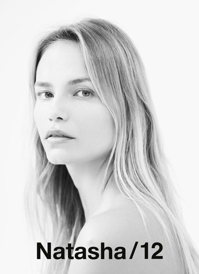 Natasha Poly - Photo: Willy Vanderperre for Natasha 1/2
