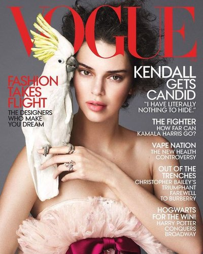 Kendall Jenner - Ph. Mert & Marcus for American Vogue April 2018