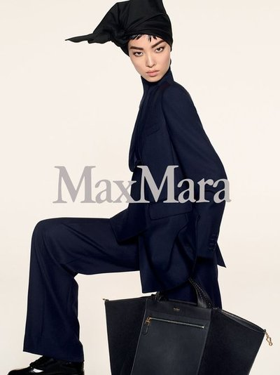Fei Fei Sun - Photo: Steven Meisel for Max Mara Prefall 2018