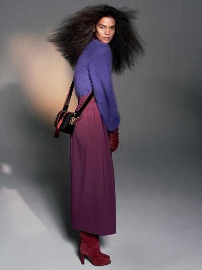 Liya Kebede - Ph: David Sims for Alberta Ferretti F/W 18