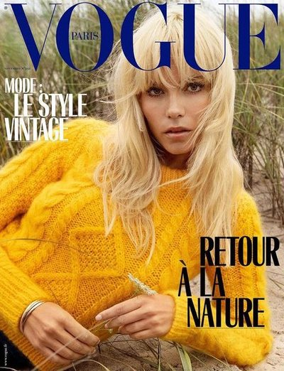 Natasha Poly - Photo: Inez and Vinoodh for Vogue Paris November 2018