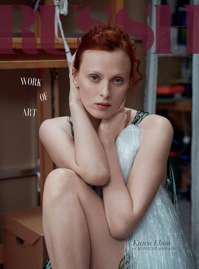 Karen Elson - Ph: Mary McCartney for Russh April 2018
