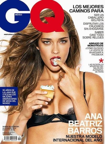 Ana Beatriz Barros - Photo: Gavin Bond for GQ Mexico November 2014