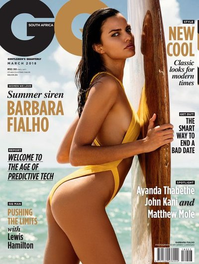 Barbara Fialho - Ph: Danny Cardozo for GQ South Africa March 2018