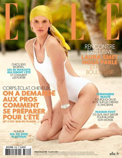 Anne Vyalitsyna - Ph: Sam Hendel for Elle France June 2018