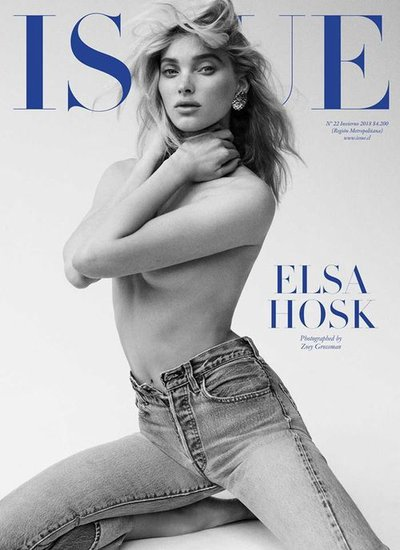 Elsa Hosk - Ph. Zoey Grossman for Issue Winter 2018