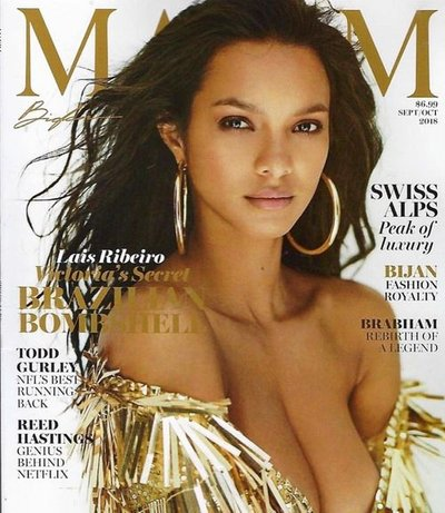 Lais Ribeiro - Ph: Gilles Bensimon for Maxim Sept/Oct 2018 Cover