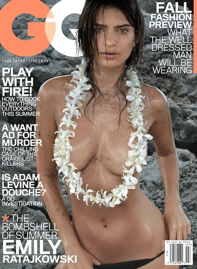 Emily Ratajkowski - Ph. Michael Thompson for GQ July 2014