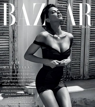 Adriana Lima - Ph: Vincent Peters for Harper's Bazaar Spain July 2017
