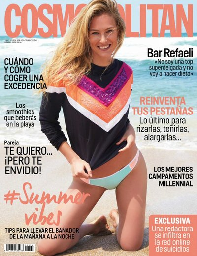 Bar Refaeli - Photo: for Cosmo Spain July 2018