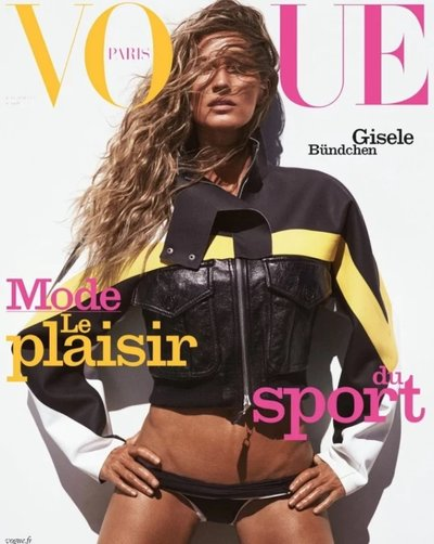 Gisele Bündchen - Ph: Mikael Jansson for Vogue Paris June/July 2019