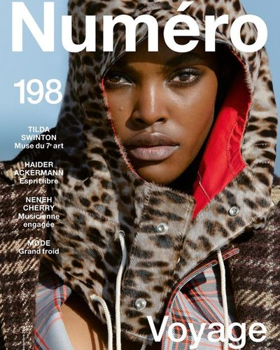 Amilna Estevao - Ph: Hans Feurer for Numero November 2018