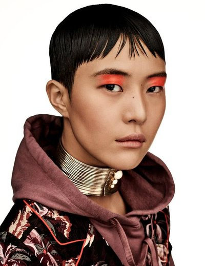 Sohyun Jung - Ph: Giampaolo Sgura for Vogue Japan May 2019