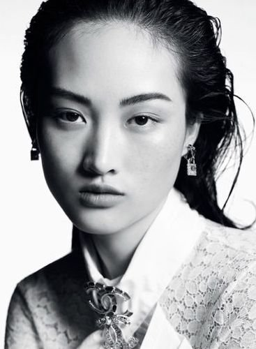 Jing Wen - Ph: Karim Sadli for Chanel Resort 2020