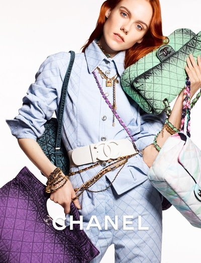 Kiki Willems - Ph: Karim Sadli for Chanel Resort 2020