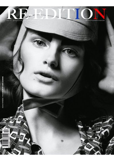Signe Veiteberg - Ph: Theo Sion for Re-Edition S/S 20
