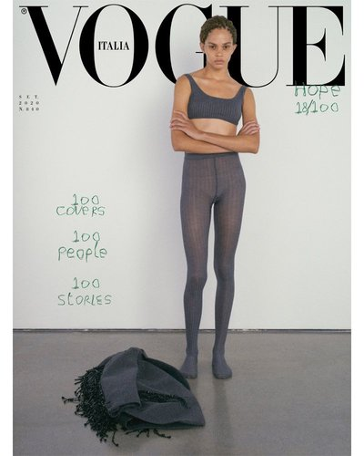 Hiandra Martinez - Ph: Mark Borthwick for Vogue Italia September 2020 Cover