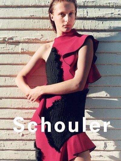 Olympia Campbell - Ph: Zoe Ghertner for Proenza Schouler S/S 16