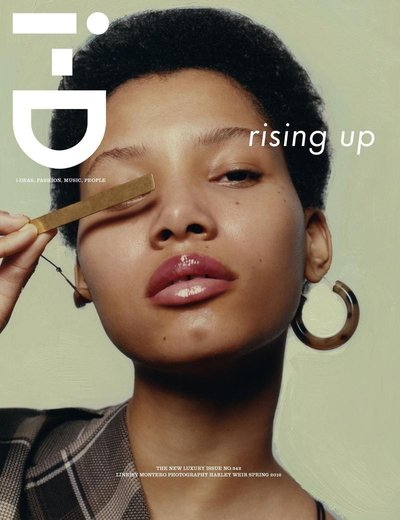 Lineisy Montero - Ph: Harley Weir for i-D Magazine