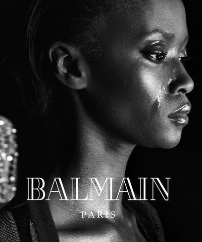 Riley Montana - Ph: Steven Klein for Balmain F/W 16