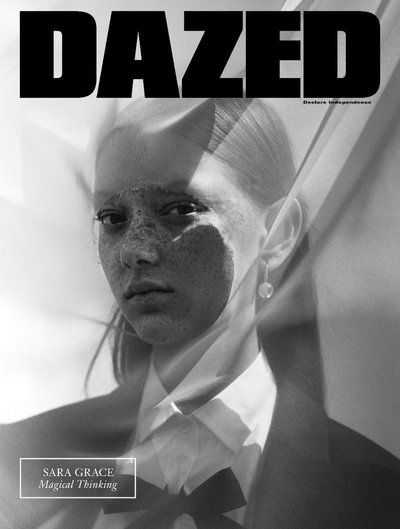 Sara Grace Wallerstedt - Ph: Jack Davison for Dazed Fall 2017