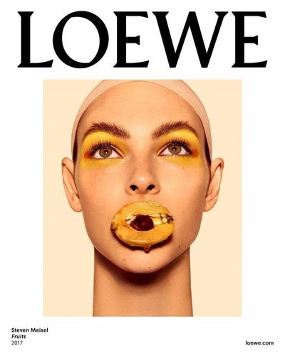 Vittoria Ceretti - Ph: Steven Meisel for Loewe S/S 18