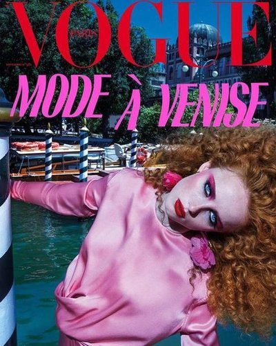 Rianne Van Rompaey - PH: Inez and Vinoodh for Vogue Paris November 2017