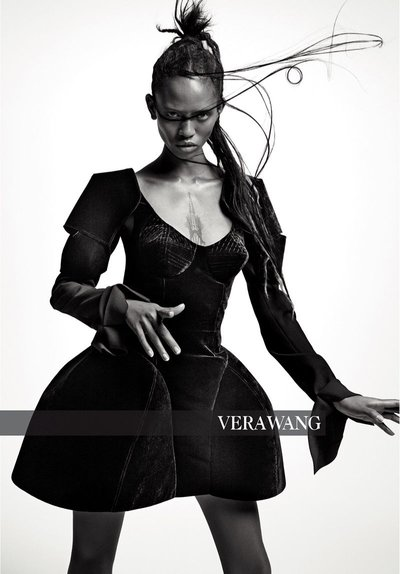 Adesuwa Aighewi - Ph: Inez and Vinoodh for Vera Wang F/W 18