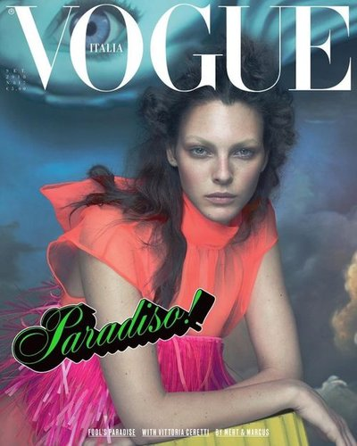 Vittoria Ceretti - Ph: Mert and Marcus for Vogue Italia September 2018 Cover