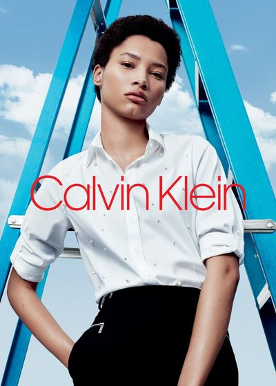 Lineisy Montero - Ph: Willy Vanderperre for Calvin Klein Main Label 2018
