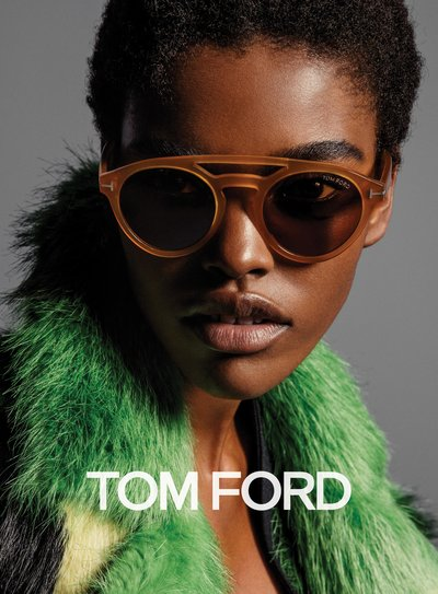 Amilna Estevao - Ph: Inez and Vinoodh for Tom Ford F/W 16