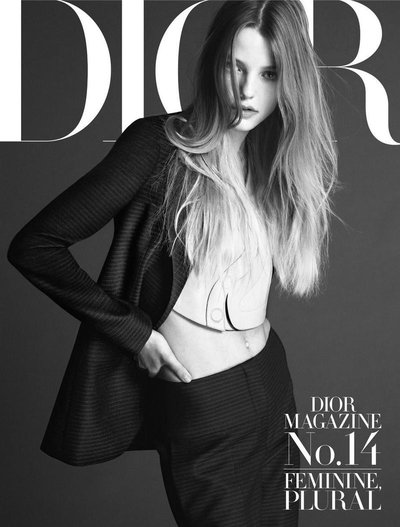 Roos Abels - Ph: Mert and Marcus for Dior Magazine Spring 2016