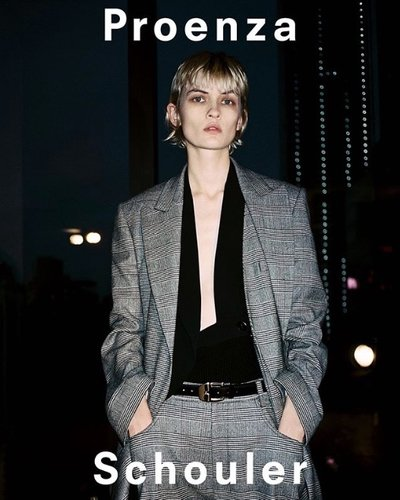 Lara Mullen - Ph: Pierre-Ange Carlotti for Proenza Schouler Fall 2019