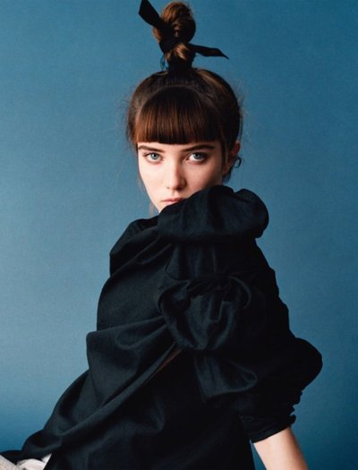 Grace Hartzel - Ph: Angelo Pennetta for Self Service S/S 16