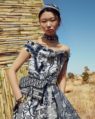 Yoon Young Bae - Ph: Nadine Ijewere for Dior Resort 2020